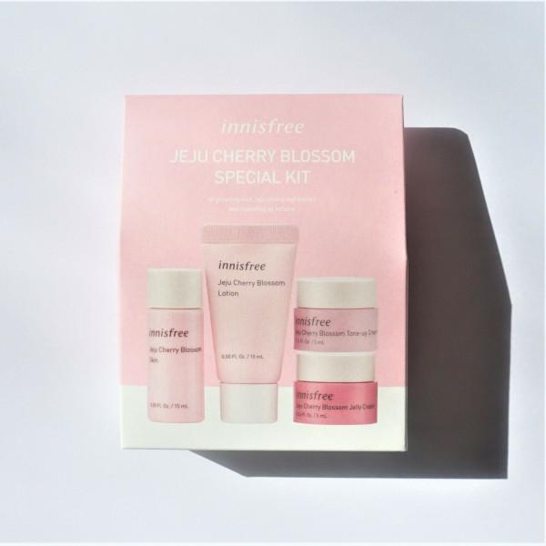 [INNISFREE_Sample] Jeju Cherry Blossom Special Kit Sample - 1pack (4items)
