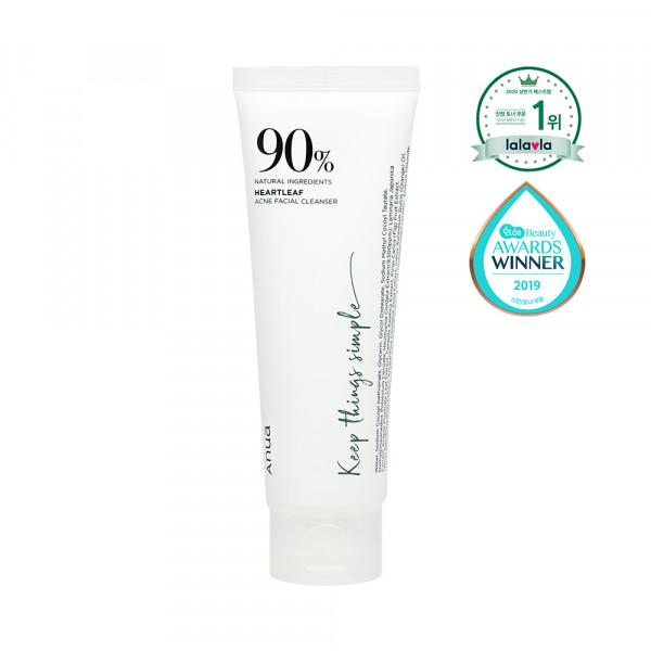 [ANUA] Heartleaf 90% Acne Facial Cleanser - 120ml
