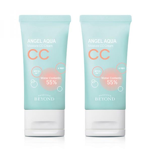[BEYOND] 1+1 Angel Aqua Moisture CC Cream - 45ml (SPF30 PA++)