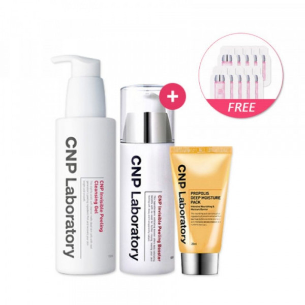 [CNP LABORATORY] Invisible Peeling Booster Special Edition 1pack (2items) + Cleansing Gel 150ml(Free Random Samples 10pcs)
