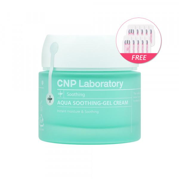 [CNP LABORATORY] Aqua Soothing Gel Cream - 80ml(Free random samples 10pcs)