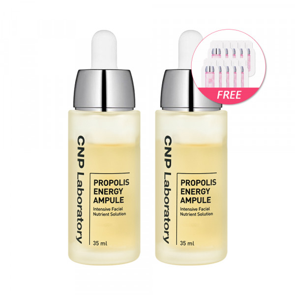 [CNP LABORATORY]Propolis Energy Ampule 2pcs (Big Size) - 35ml(Free Random Samples 10pcs)