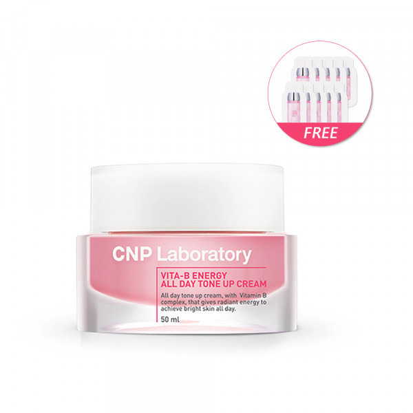[CNP LABORATORY] Vita B Energy All Day Tone Up Cream - 50ml(Free Random Samples 10pcs)