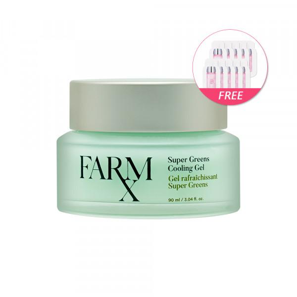 [CNP LABORATORY] Farm Rx Super Greens Cooling Gel - 90ml(Free Random Samples 10pcs)