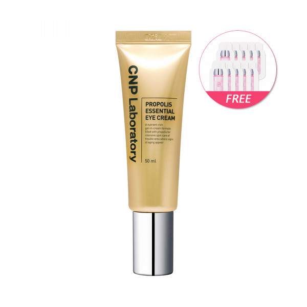 [CNP LABORATORY] Propolis Essential Eye Cream - 50ml(Free Random Samples 10pcs)