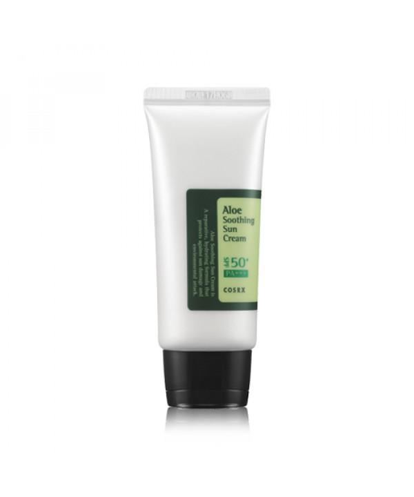 [COSRX] Aloe Soothing Sun Cream - 50ml x 10pcs (SPF50+ PA+++)