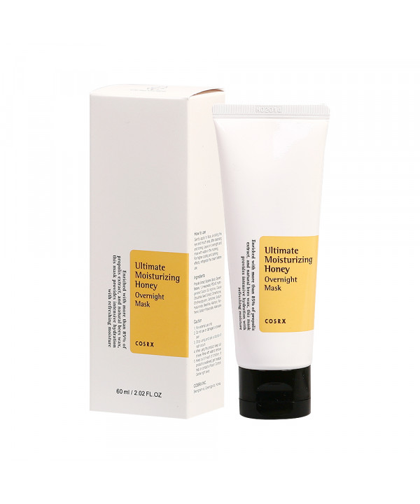 [COSRX] Ultimate Moisturizing Honey Overnight Mask - 60ml (New)