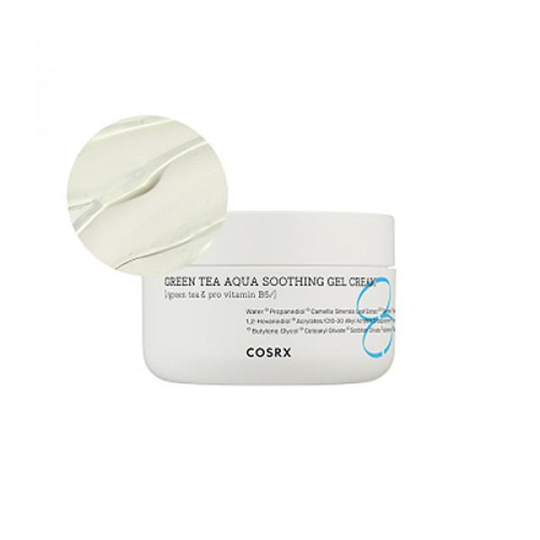 [COSRX] Hydrium Green Tea Aqua Soothing Gel Cream - 50ml