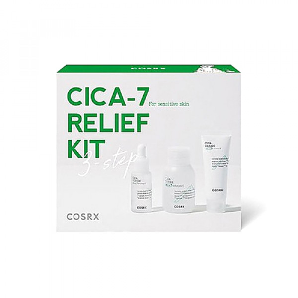 [COSRX] Pure Fit Cica 7 Relief Kit - 1pack (3items)