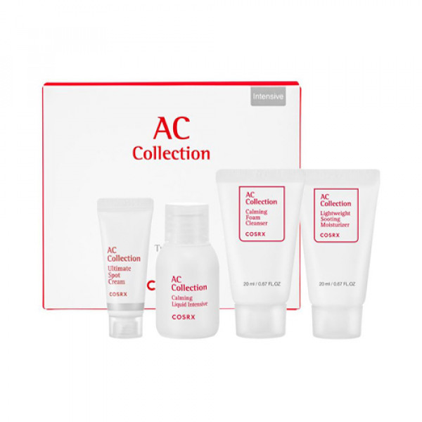[COSRX] AC Collection Trial Kit Oily Skin - 1pack (4items) No.Intensive