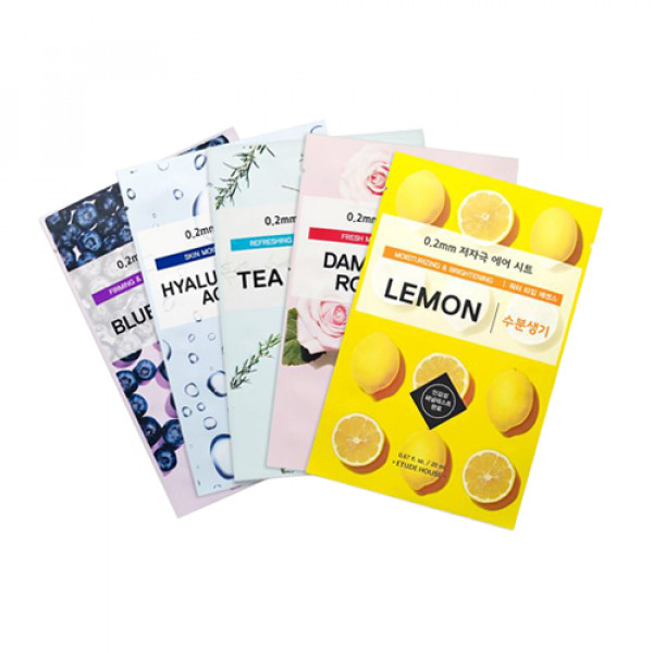 [ETUDE HOUSE] 0.2 Therapy Air Mask - 5pcs