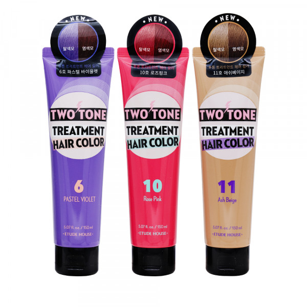 [ETUDE HOUSE] Two Tone Treatment Hair Color (2021) - 150ml