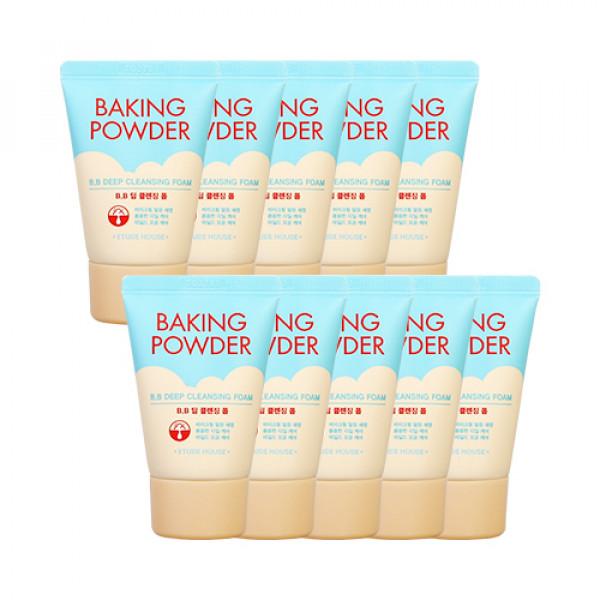 [ETUDE HOUSE_Sample] Baking Powder BB Deep Cleansing Foam Sample - 30ml x 10pcs