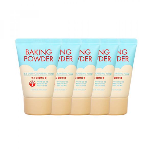 [ETUDE HOUSE_Sample] Baking Powder BB Deep Cleansing Foam Sample - 30ml x 5pcs