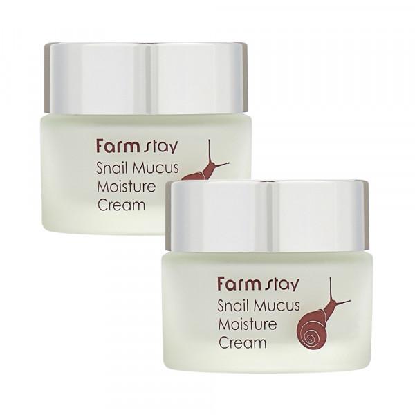 [FARM STAY] 1+1 Snail Mucus Moisture Cream - 50g