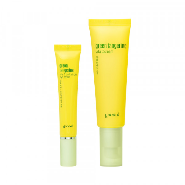 [GOODAL] Green Tangerine Vita C Cream Set - 1pack (2items)