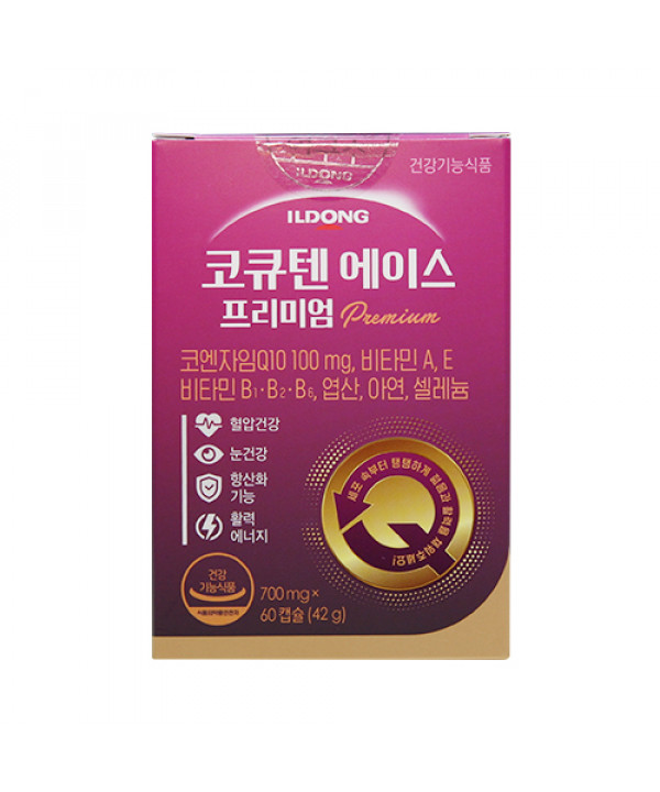 [ILDONG] Coenzyme Q10 Ace Plus - 1pack (for 60 days)
