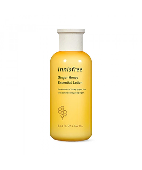[INNISFREE] Ginger Honey Essential Lotion (2021) - 160ml