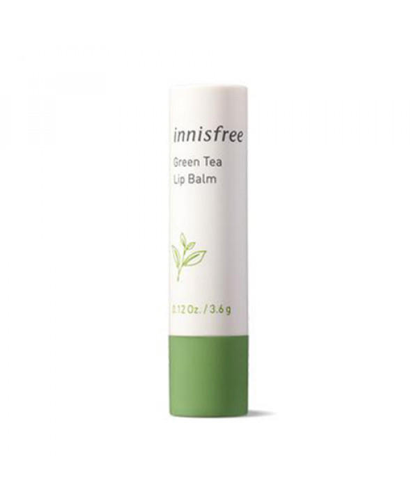 [INNISFREE] Green Tea Lip Balm (2021) - 3.6g