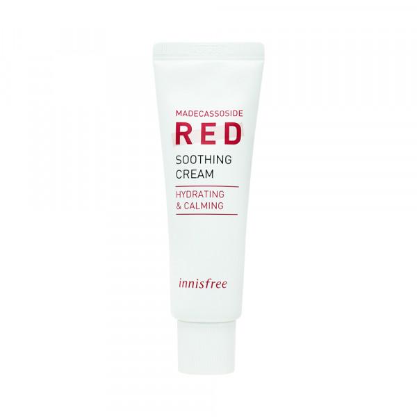 [INNISFREE] Truecare Madecassiside Red Soothing Cream - 50ml