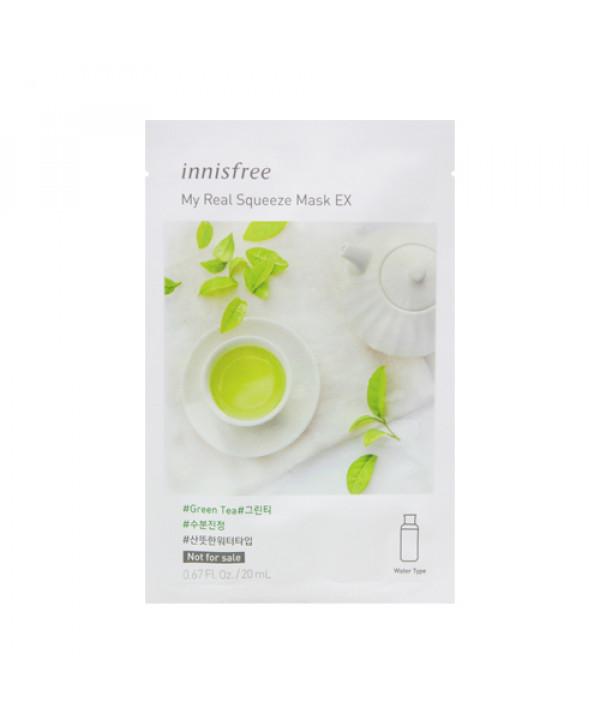 [INNISFREE_Sample] My Real Squeeze Mask EX Sample - 1pcs No.Green Tea