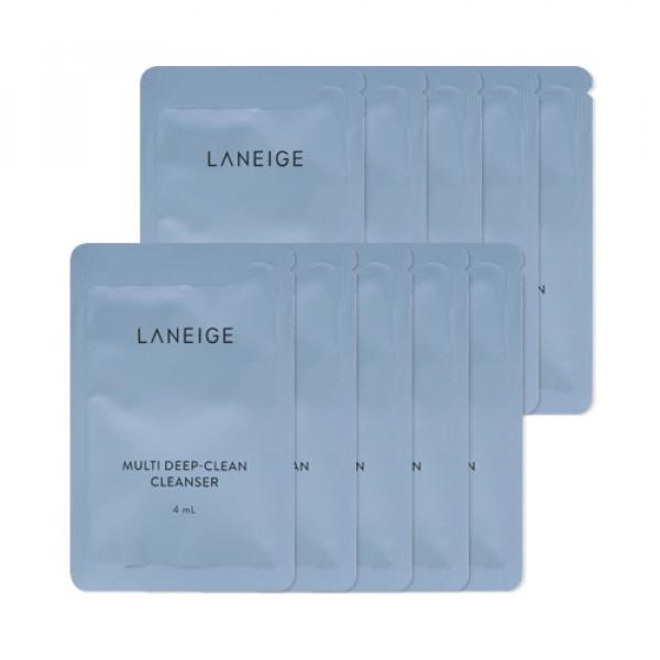 [LANEIGE_Sample] Multi Deep Clean Cleanser Samples - 10pcs