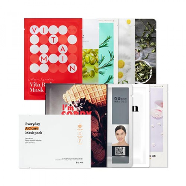 [Lucky Box] Acne Fighter Mask Set (Troubled And Oily Skin)