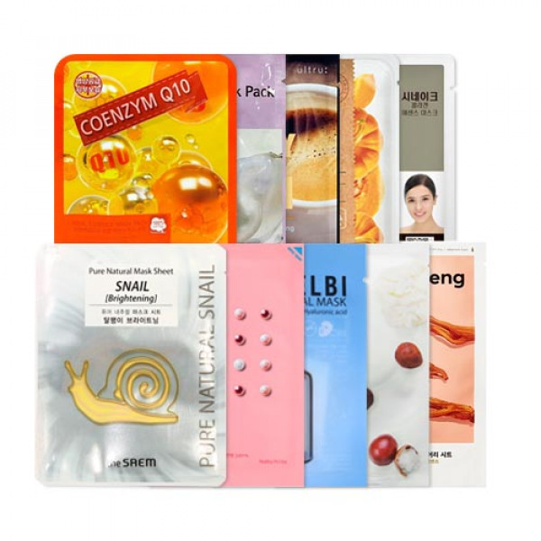 [Lucky Box] Forever Young Mask Set (Anti Aging)