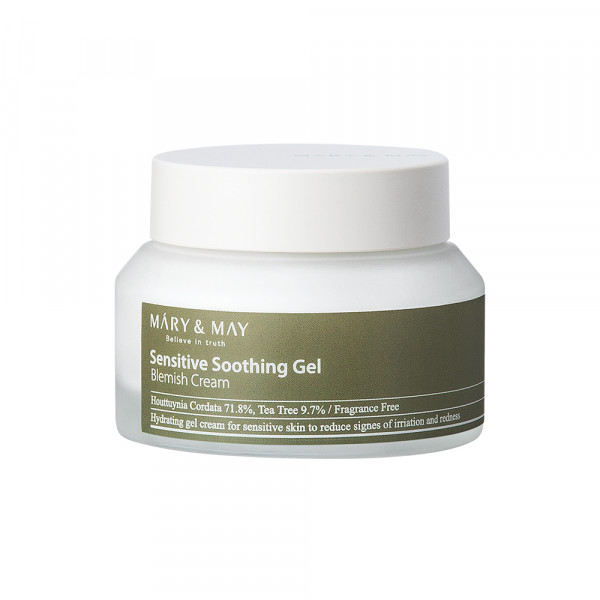 [MARY & MAY] Sensitive Soothing Gel Blemish Cream - 70g