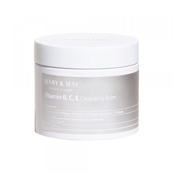 [MARY & MAY] Vitamin B C E Cleansing Balm - 120g