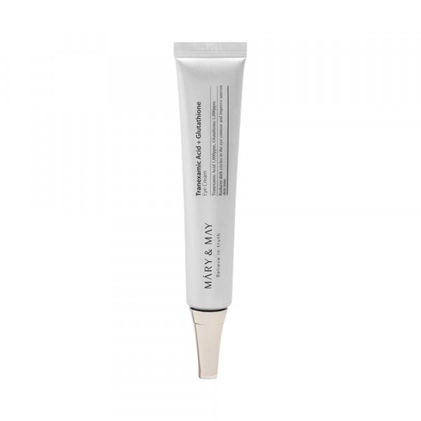 [MARY & MAY] Tranexamic Acid + Glutathione Eye Cream - 30g