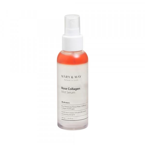 [MARY & MAY] Rose Collagen Mist Serum - 100ml