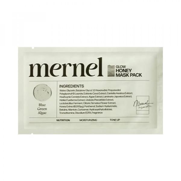 [MERNEL] Glow Honey Mask Pack (Nutrition) - 5pcs