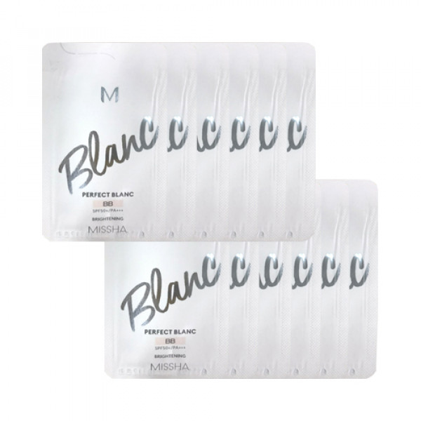[MISSHA_Sample] M Perfect Blanc BB Samples - 10pcs No.21