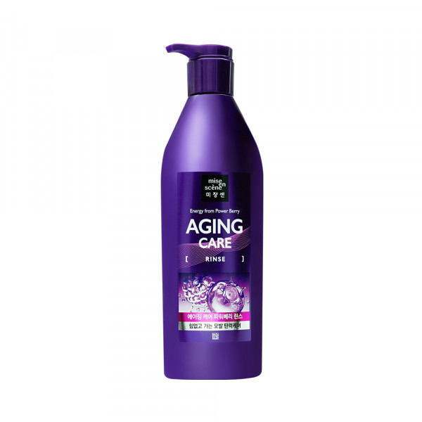 [Mise En Scene] Aging Care Power Berry Rinse - 680ml