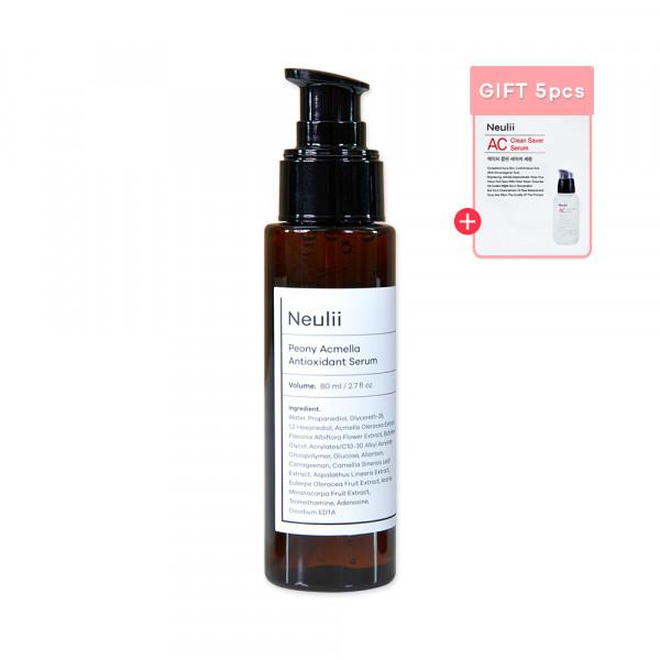 [Neulii] Peony Acmella Antioxidant Serum - 80ml (EXP 2022.02.10)