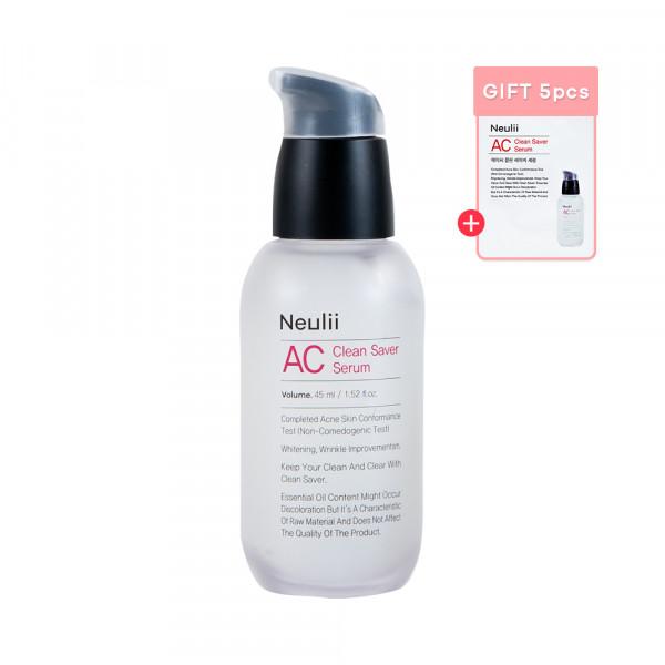 [Neulii] AC Clean Saver Serum - 45ml (Free Random Samples 5pcs)