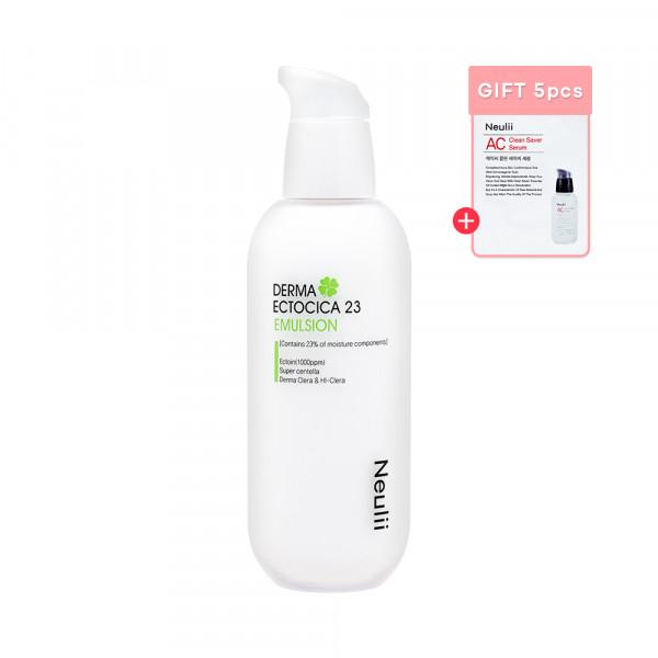 [Neulii] Derma Ectocica 23 Emulsion - 100ml (Free Random Samples 5pcs)