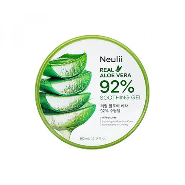 [Neulii] Real Aloe Vera 92% Soothing Gel - 300ml