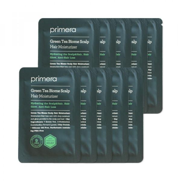 [Primera_Sample] Green Tea Biome Scalp Hair Moisturizer Samples - 10pcs