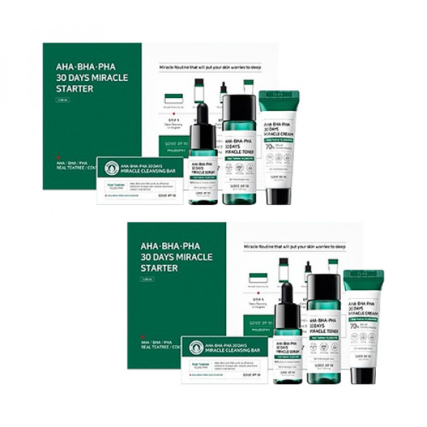 [SOME BY MI] 1+1 AHA BHA PHA 30 Days Miracle Starter Kit - 1pack (4items)