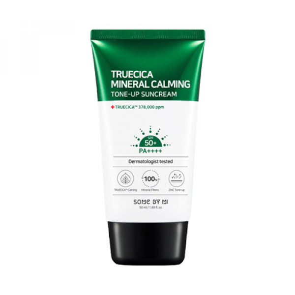 [SOME BY MI] Truecica Mineral Calming Tone Up Suncream - 50ml (SPF50+ PA++++)