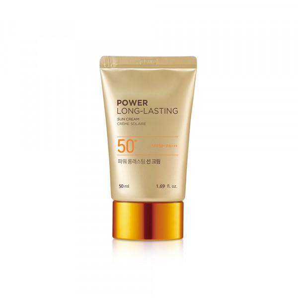 [THE FACE SHOP_Sample] Power Long Lasting Sun Cream Sample - 50ml (SPF50+ PA+++)