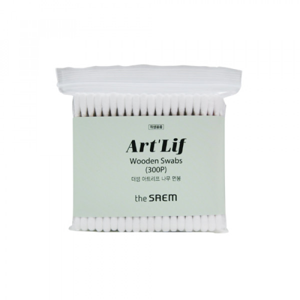 [THESAEM] Artlif Wooden Swabs - 1pack (300pcs)