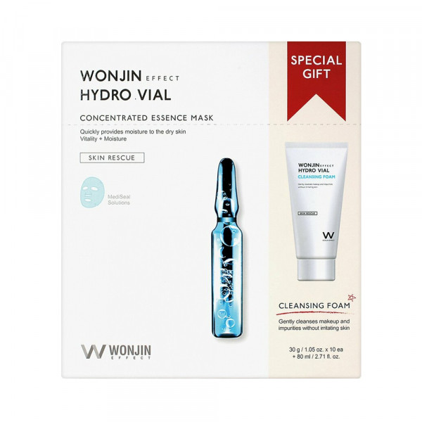 [WONJIN] Hydro Vial Mask & Cleansing Special Kit - 1pack