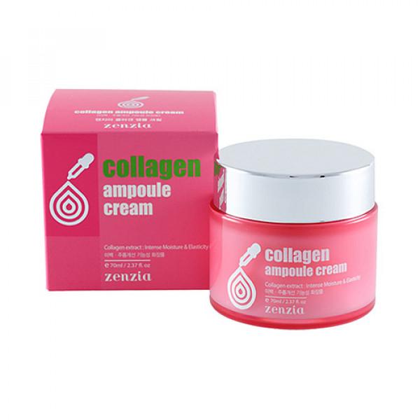 [ZENZIA] Collagen Ampoule Cream - 70ml