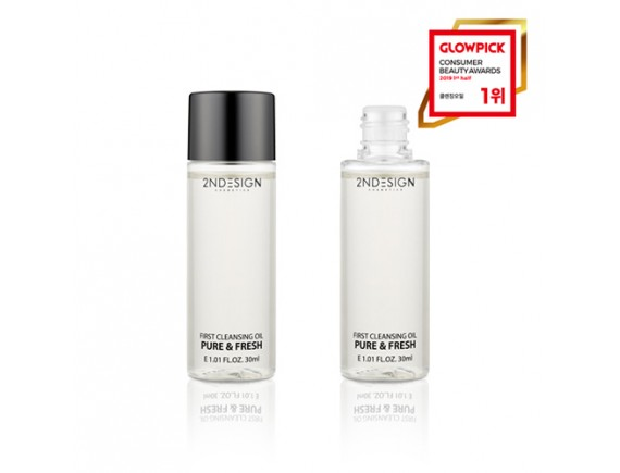 [2NDESIGN] First Cleansing Oil Pure & Fresh Mini - 30ml