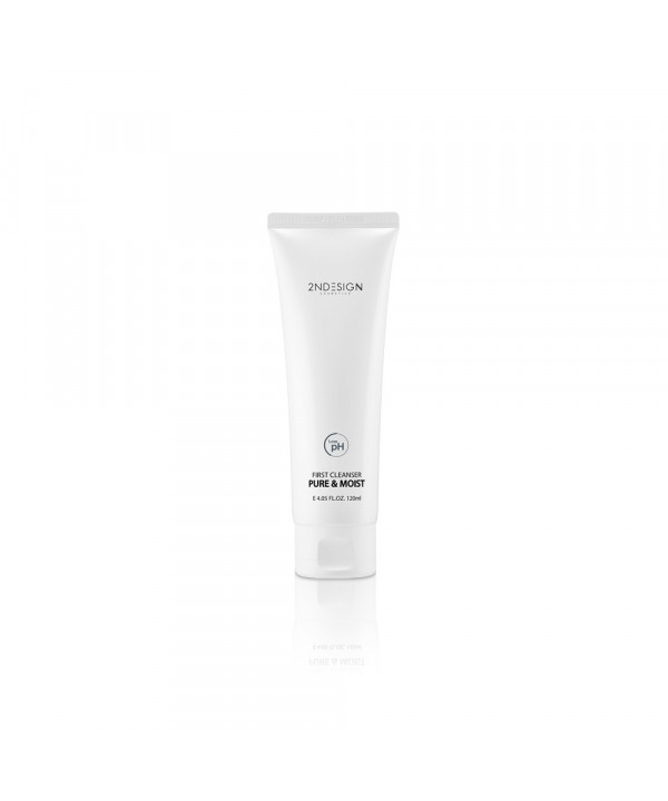 [2NDESIGN] First Cleanser Pure & Moist - 120ml