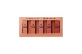 [3CE] Mood Recipe Lip Color Mini Kit 2 - 1pack (5pcs)