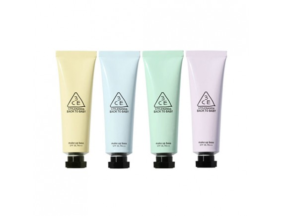 [3CE] Back To Baby Makeup Base - 30ml (SPF30 PA+++)